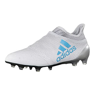 lowest price cd4bb 52afd adidas X 17+ Purespeed FG, Chaussures de Sport Homme - Blanc - Blanc (