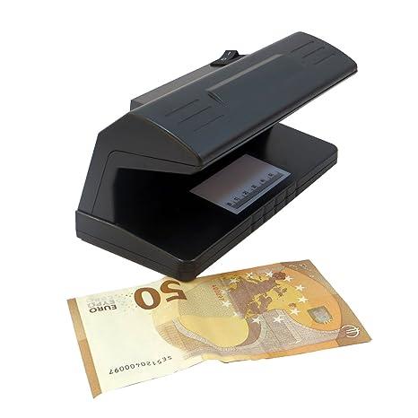 Detector billetes falsos Soldi Falsi luz ultravioleta 318 enchufe eu
