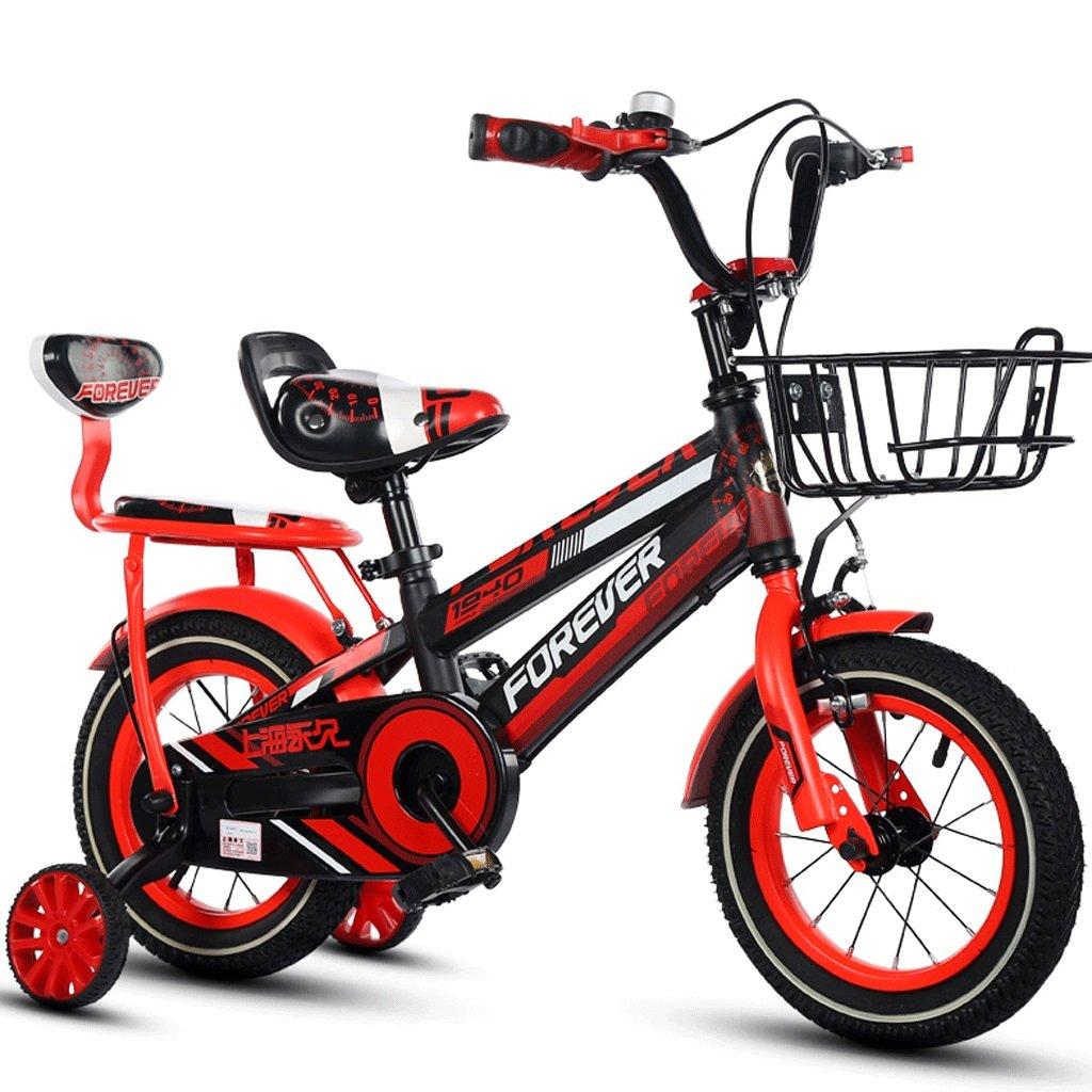 子供の自転車の男の子の女の子の自転車ペダル2-12赤ちゃんの屋外自転車 (色 : 赤, サイズ さいず : 12インチ) B07DCHXLN3 12インチ|赤 赤 12インチ