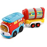 VTech Go! Go! Smart Wheels Freight Train with Tanker Car