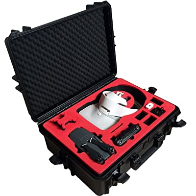 Professional Carrying Case for DJI Goggles (also racing edition) and DJI Mavic Pro and Platinum - 100% Water and dust proofed - by MC-CASES: Electronics