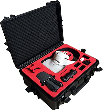 Transportkoffer Für Dji Goggles Re Edition Zusammengesetzt Und Dji Mavic Pro Platinum Mit Platz Für 4