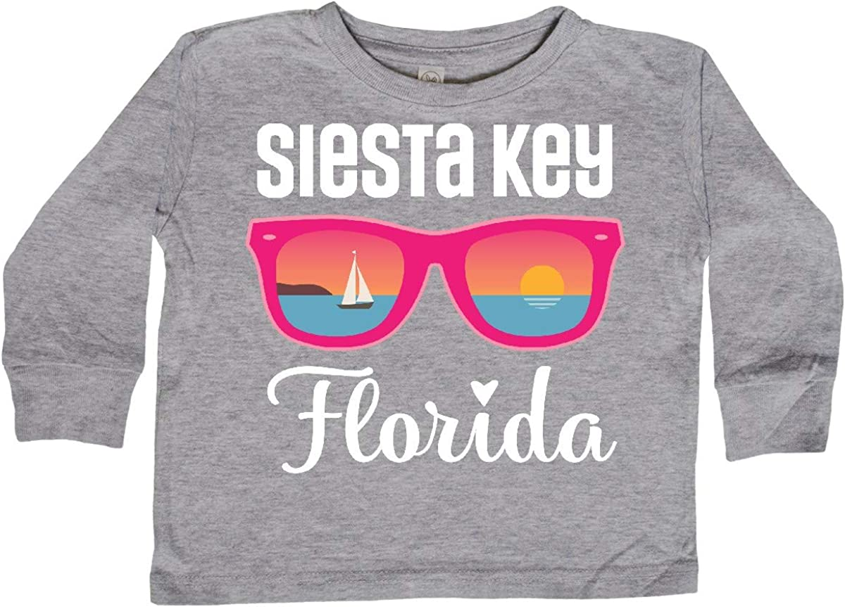 inktastic Siesta Key Florida Beach Trip Toddler Long Sleeve T-Shirt