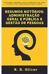 Resumos Notórios: Administração Geral e Pública e Gestão de Pessoas 2020 eBook Kindle