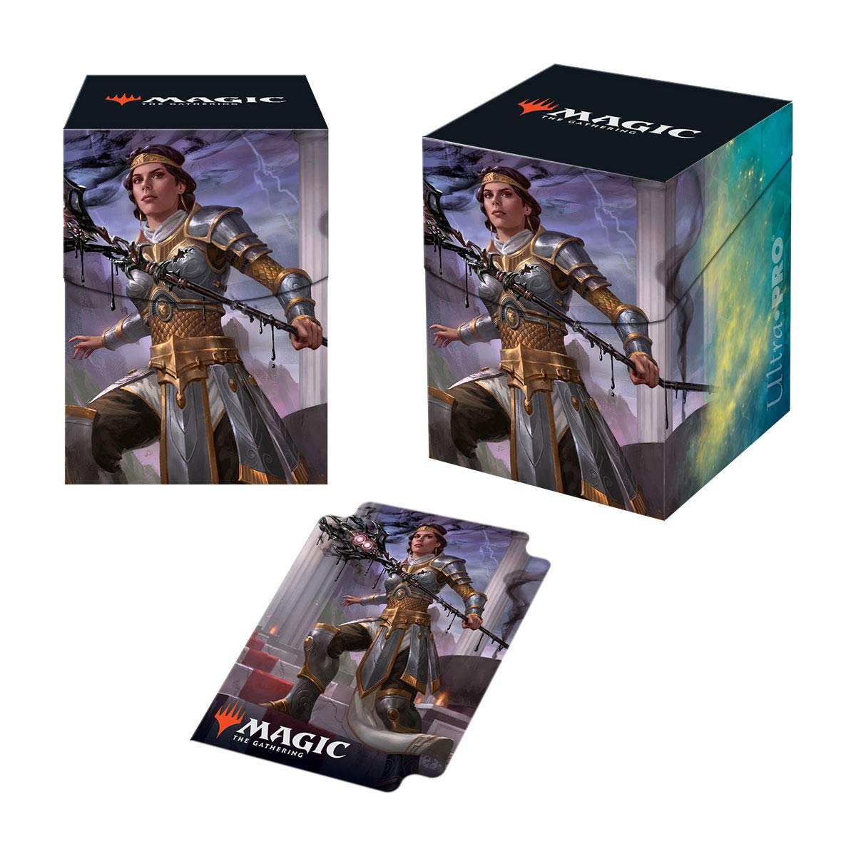 Ultra Pro Theros Beyond Death Elspeth Deck Box with 100 Sleeves Suns Nemesis Pro 100