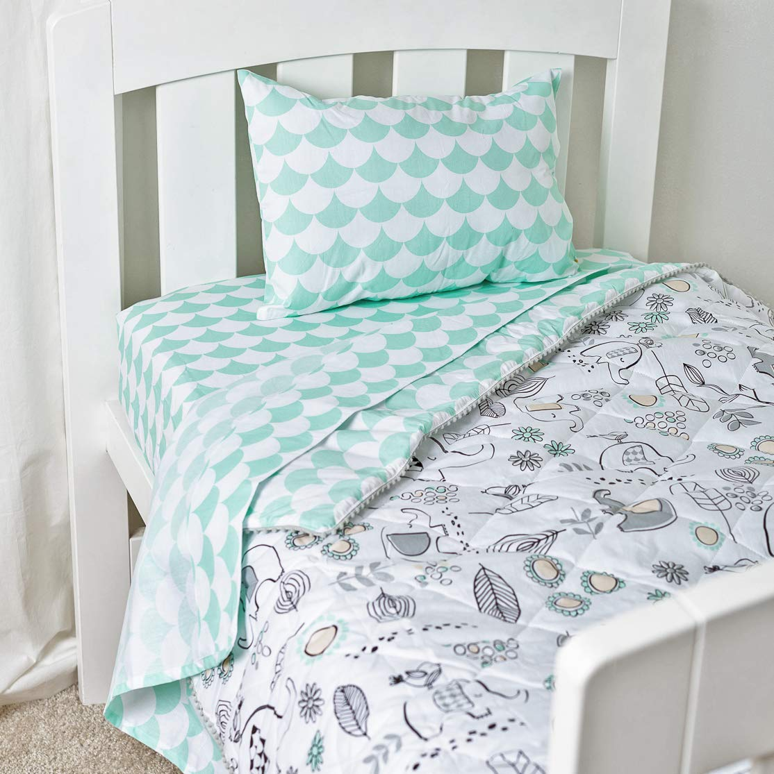/… Sparrow Pattern Complete Sheet Set with 1 Flat Sheet Sparrow Collection and 1 Pillow Case 1 Fitted Sheet Lolli Living Twin Bedding Sheet Set