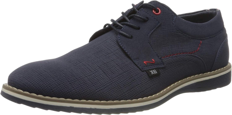 XTI 49690 Zapatos de Cordones Oxford para Hombre
