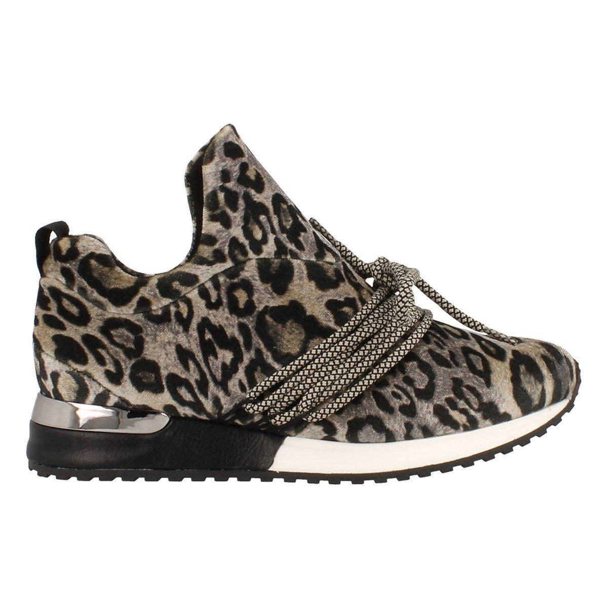 La stradaLeopard Velvet - Zapatillas Mujer 36 EU