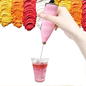 Magic Tool for Epoxy Glitter Cups Tumblers Making, Specially-Made Mixer Blender Apply to Mixing Epoxy Resin Acrylic, Very Easy to Operate and Clean