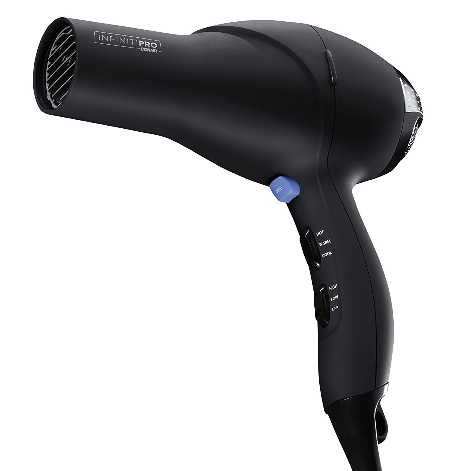 INFINITIPRO BY CONAIR 1875W Salon Performance AC Motor Styling Tool/Hair Dryer; Black