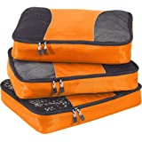 eBags Large Packing Cubes - 3pc Set (Tangerine)