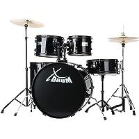"""XDrum Rookie 22"""" Fusion batería set completo Black"""