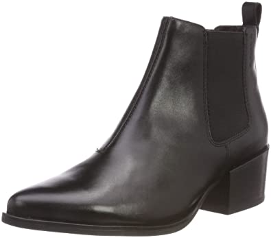 925c9a311 Amazon.com | Womens Vagabond Marja Work Leather Shoes Casual Pointed Toe Ankle  Boot | Ankle & Bootie