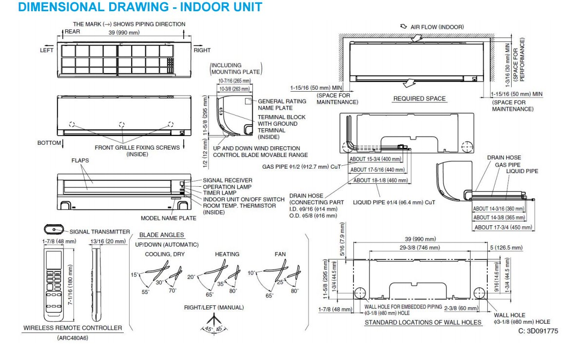 daikin piping diagram