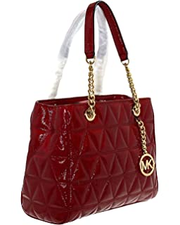 4448411d1ee5 ... authentic michael michael kors womens susannah medium tote leather  handbag 2cb15 01fb2