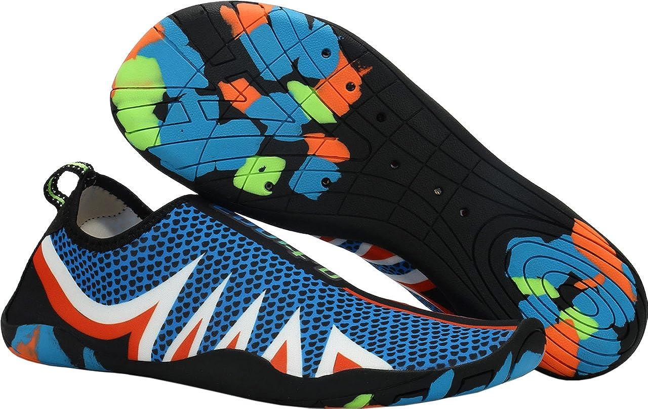 Gaatpot Aqua Zapatos Zapatillas Baño Deportivas de Agua Playa y Piscina Escarpines Mar Calcetines Surf Vacaciones de Verano para Unisex Adulto