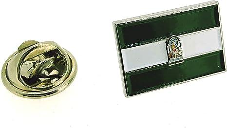 Pin de Solapa Bandera Autonómica de Andalucía: Amazon.es: Ropa y accesorios