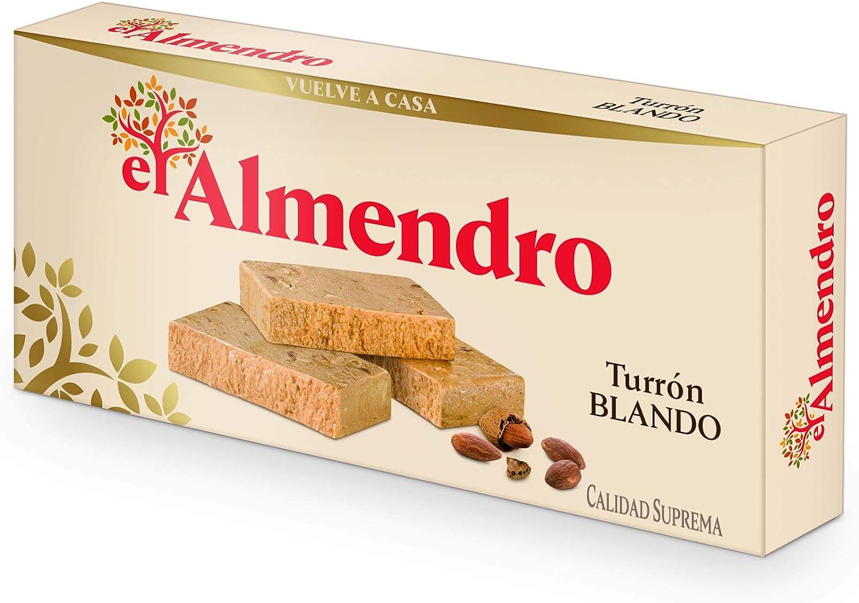 El Almendro - Turrón Blando Superior, 250 g: Amazon.es ...