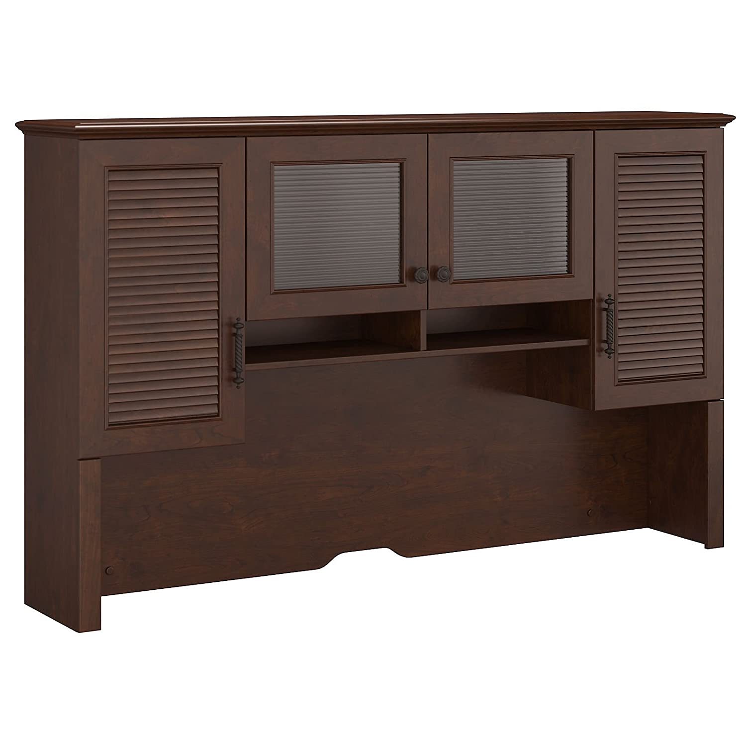Kathy Ireland by Bush Volcano Dusk 68 Hutch in Coastal Cherry
