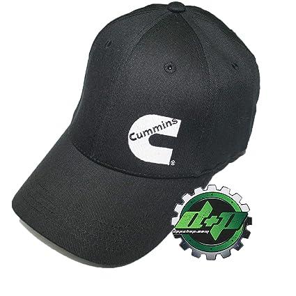 Amazon.com  Diesel Power Plus Cummins Flex Fitted Black Ball Cap fit Hat  Dodge Stretch  Sports   Outdoors 95df8f63cd0