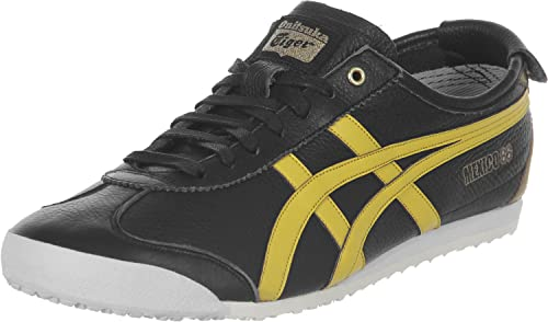 best website 152cd 02f30 Onitsuka Tiger Mexico 66 Black Yellow Gold 37.5: Amazon.co ...