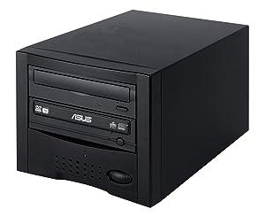 Acumen Disc CD DVD Disc Copier Duplicator System Tower with ASUS DVD-Burner Writer Drive - DC01SATASAS