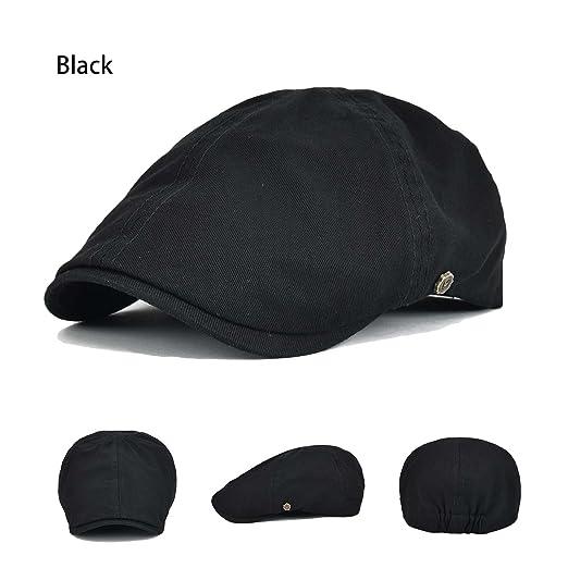 Generic Solid Cotton Gatsby Cap Mens Ivy Hat Golf Driving Summer Sun Flat  Cabbie Newsboy ( 432ba99f733