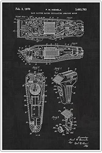 Amazon barber shop clippers blueprint patent patent poster barber shop clippers blueprint patent patent poster blueprint poster art malvernweather Gallery