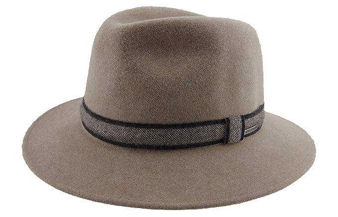 Stetson - Sombrero de Vestir - para Hombre 70 - Beige 59  Amazon.es  Ropa y  accesorios a844b340dbb