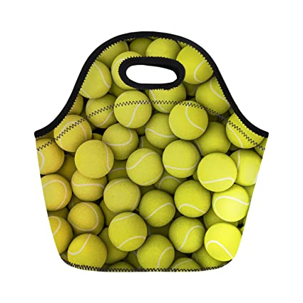 12f95c3e60fe Coloranimal Funny 3D Tennis Puzzle Neoprene Lunch Tote Bag for Kids Parents