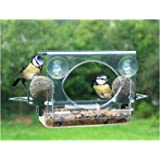 GLASS/WINDOW SUCTION BIRD FEEDER- ROOF/FAT BALL HOLDERS