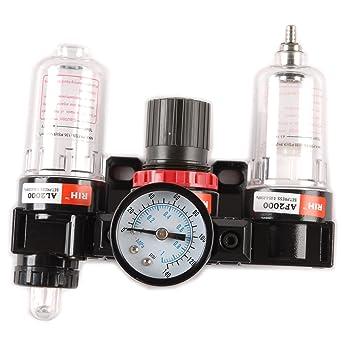 """tinxi® unidad de mantenimiento de aire comprimido de 1/4 """"trampa de"""