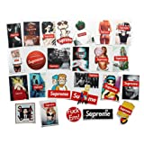 Supreme Stickers Pack FNGEEN Laptop Stickers Bomb