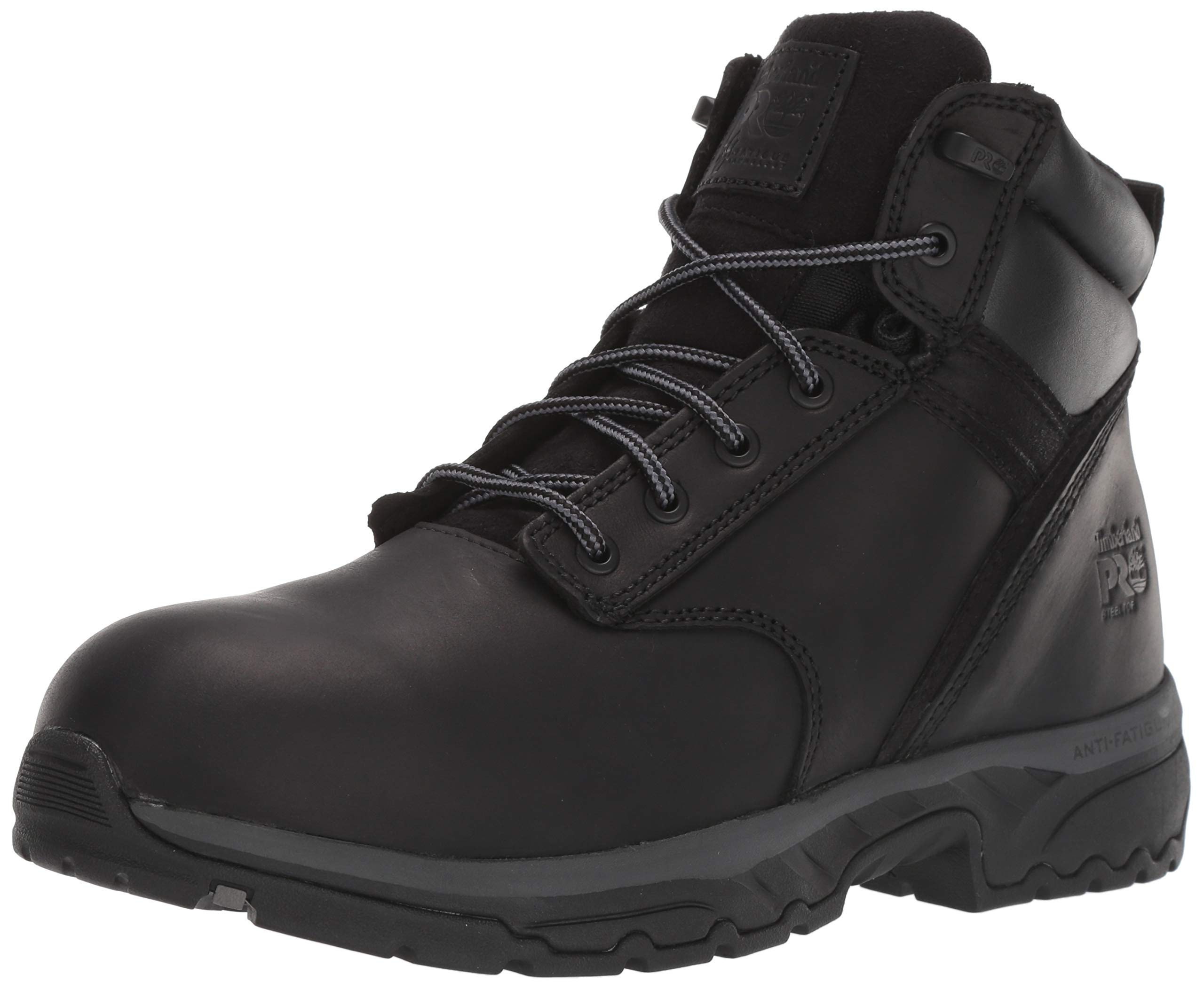 Timberland PRO Men's Jigsaw 6'' Steel Toe Industrial Boot, Black, 10.5 M US by Timberland PRO