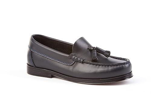 Zapatos Mocasines Infantiles Todo Piel, mod.594. Calzado infantil Made in Spain,