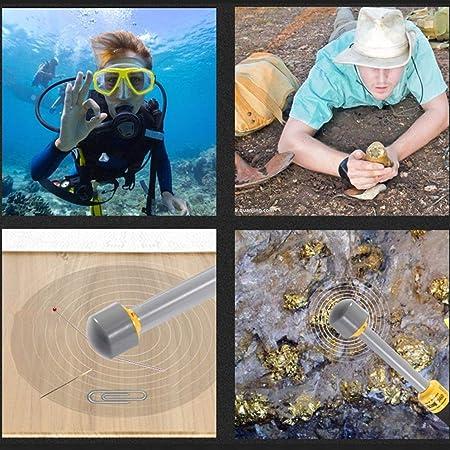 HUKOER PI-iking 740 Detector de Metales 30m Impermeable Detector de Metales bajo el Agua Inducción de Pulso Portátil de Mano Pinpointer: Amazon.es: ...