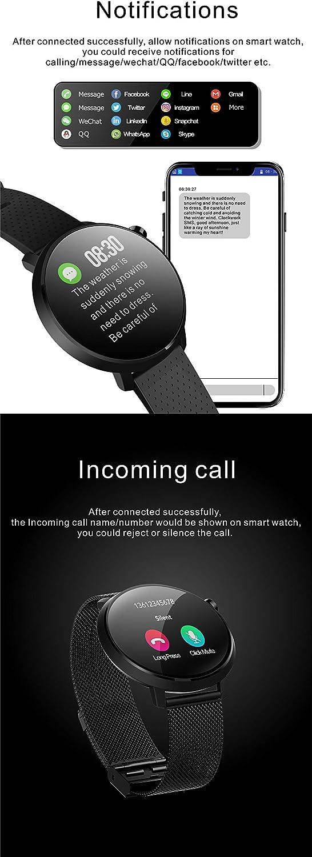 Amazon.com: C10 - Reloj inteligente de actividad física para ...