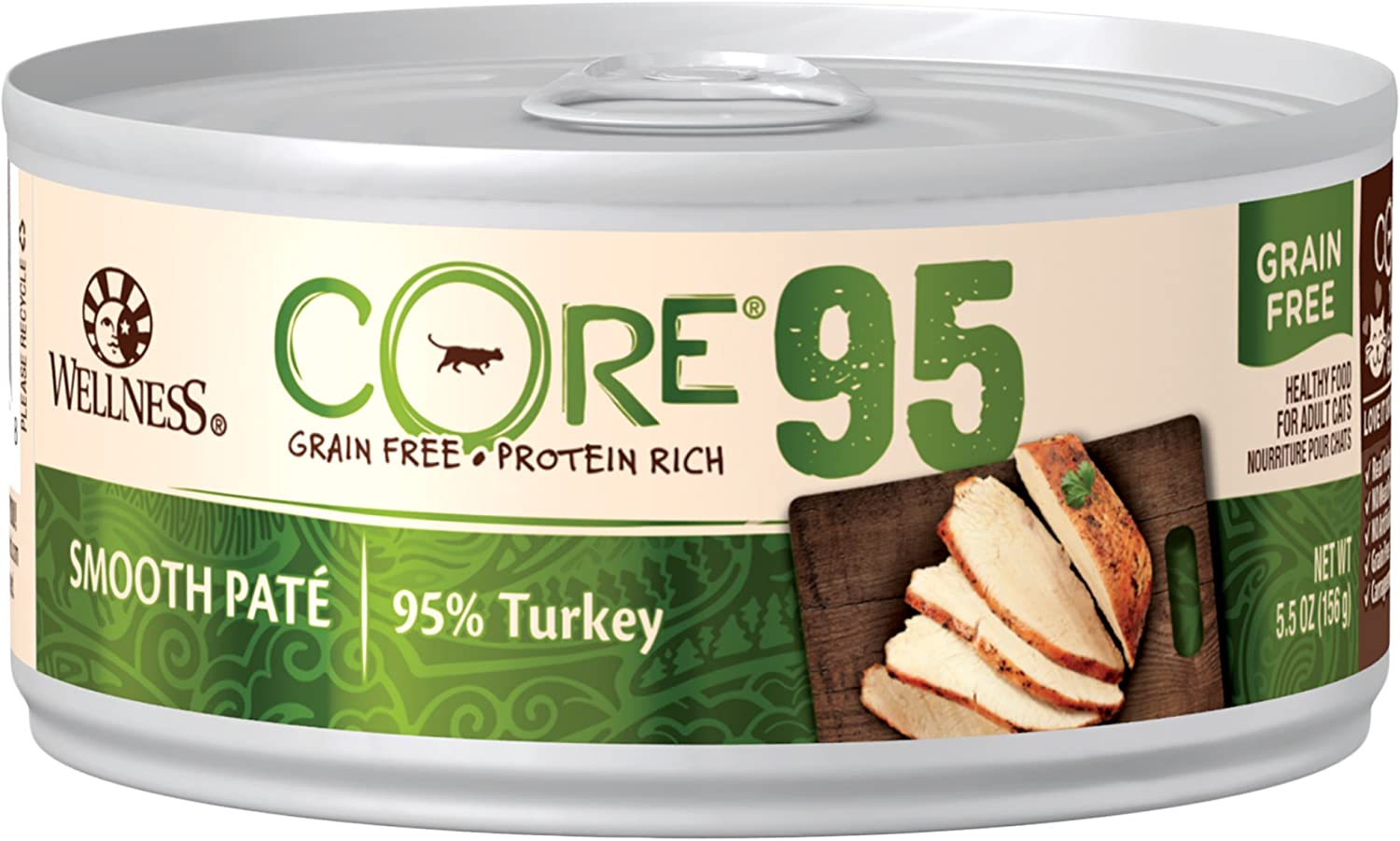 Wellness CORE 95% Wet Cat Food (Pack of 12)