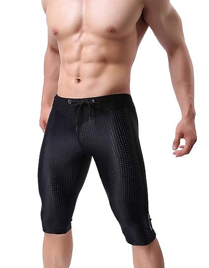 38d90036cb Brave Person 40 Nylon Mesh Tight Medium Pants Running Fitness Leisure Yoga  Pants (L /