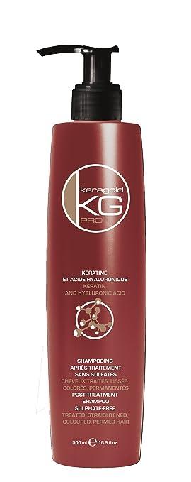 Exceptionnel Shampoing SANS SULFATES à la KERATINE & ACIDE HYALURONIQUE  DY89