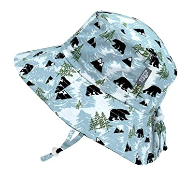 c9d4017b5a5 JAN   JUL Newborn Infant Baby Boy Cotton Bucket Sun Hat 50 UPF Protection