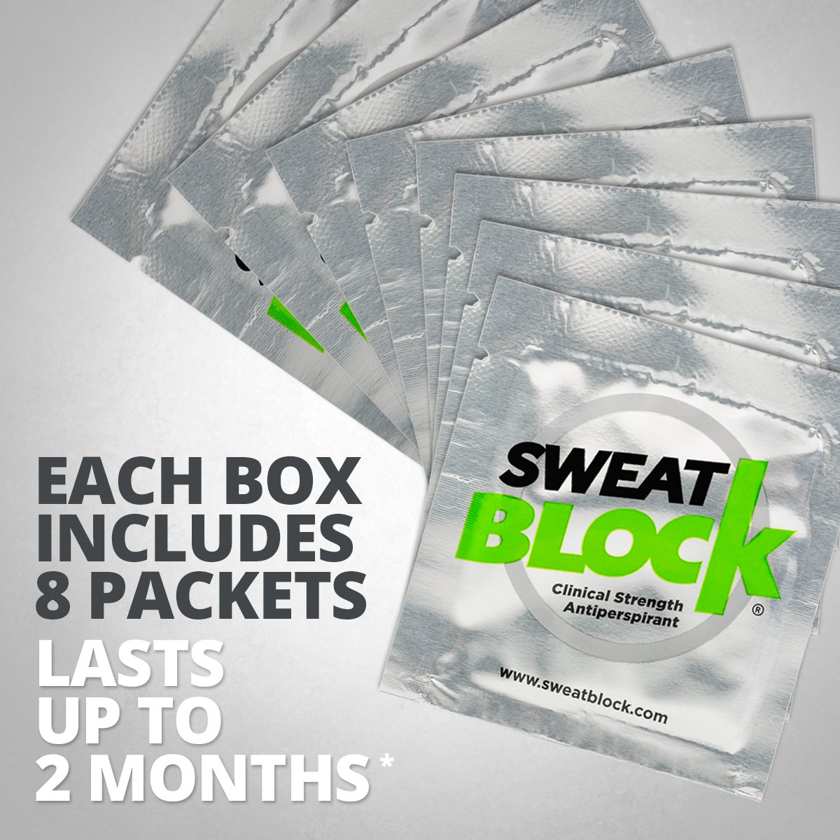 SweatBlock Antiperspirant - Clinical Strength - Reduce Sweat up to 7-days per Use by SweatBlock (Image #3)