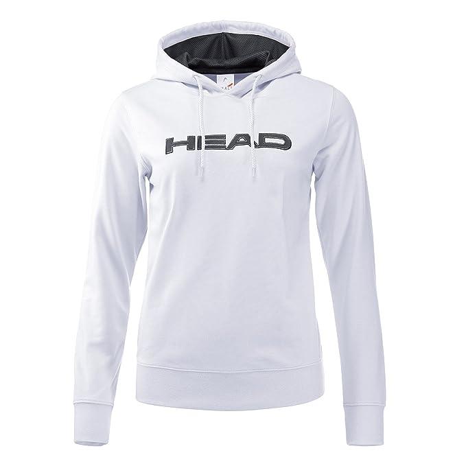 Head - Rosie Mujer Tenis Hoodie (Color Blanco/Oscuro): Amazon.es: Deportes y aire libre