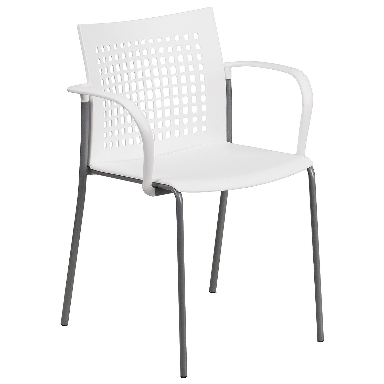 Amazon Flash Furniture HERCULES Series 551 lb Capacity White