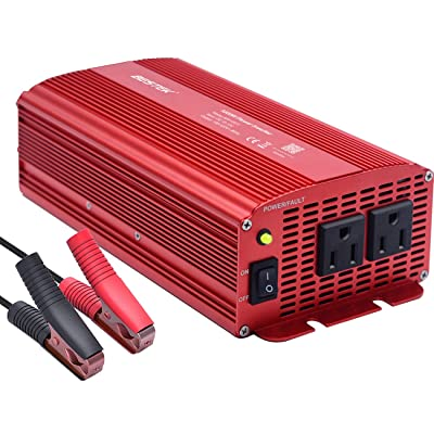 BESTEK Power Inverter 1000 Watt DC 12 Volt, Power Converter 1000w DC to AC Converter for Car: Automotive