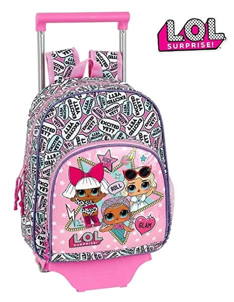 Mochila Carro Lol Surprise 28x34x10