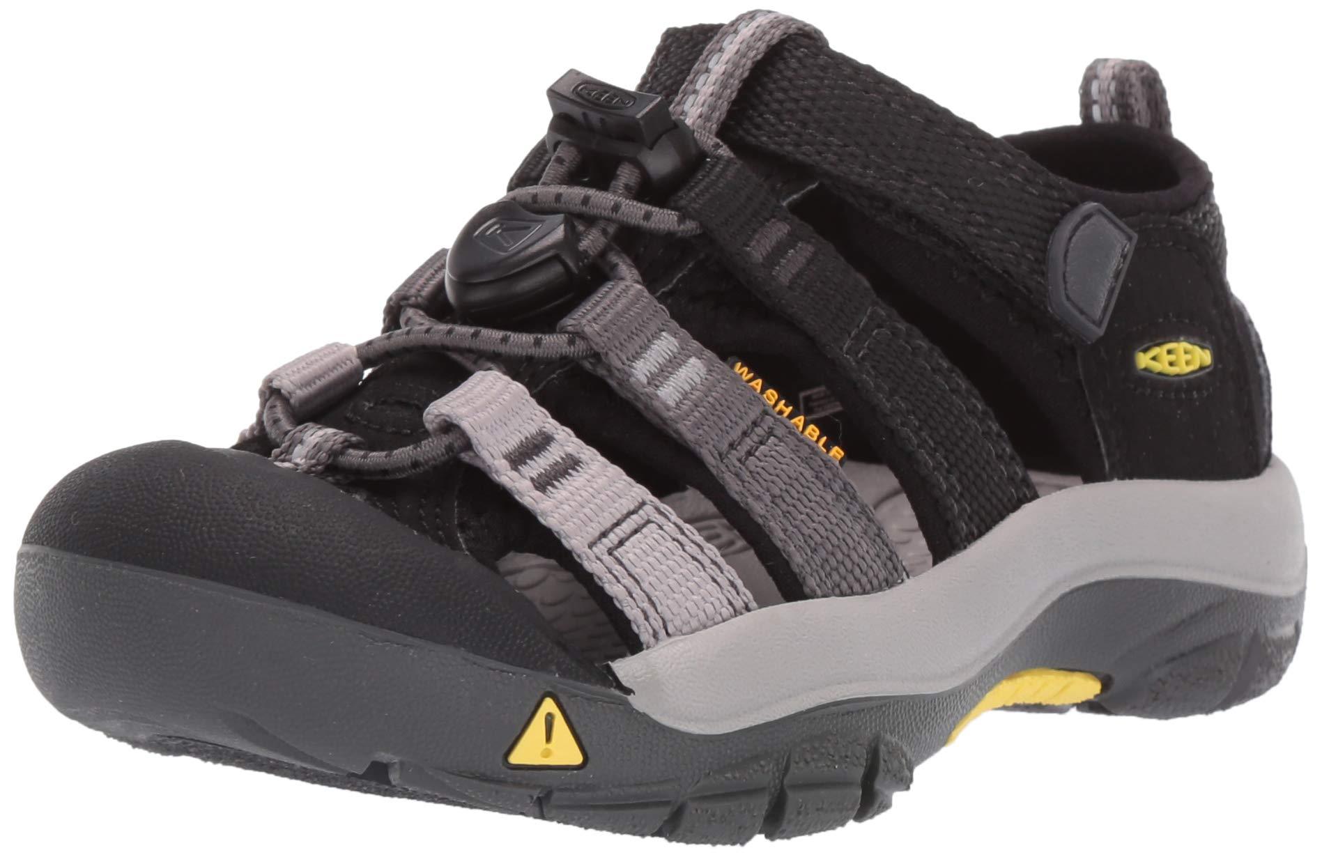 Keen Unisex Newport H2 Water Shoe Black/Magnet 6 M US Big Kid