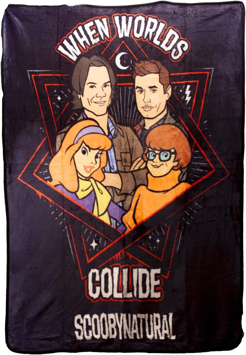 Supernatural Collectibles Scooby Multi-Character Fleece Blanket