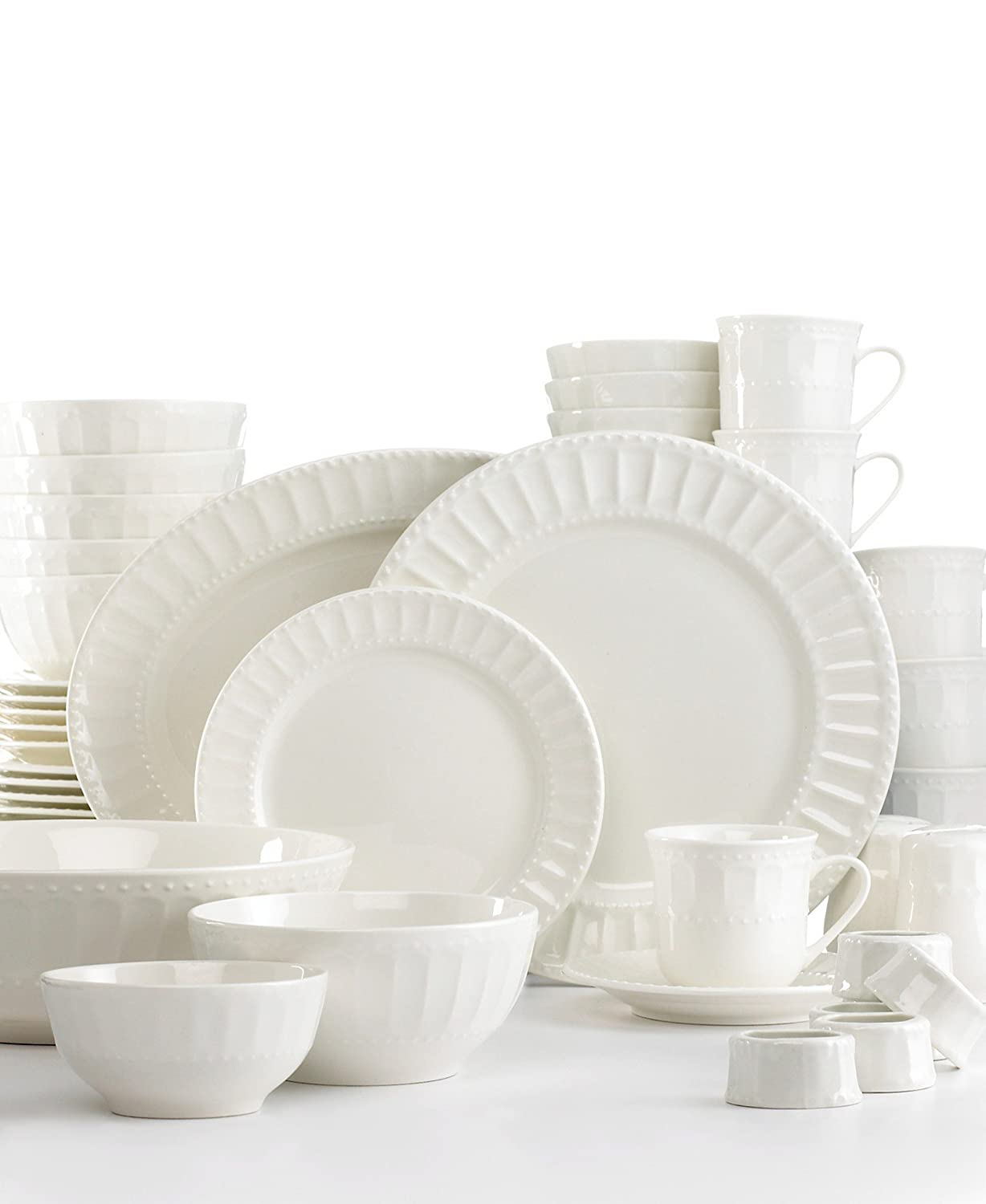 sc 1 st  Amazon.com & Amazon.com | Gibson Regalia 46-Piece Dinnerware Set: Dinnerware Sets