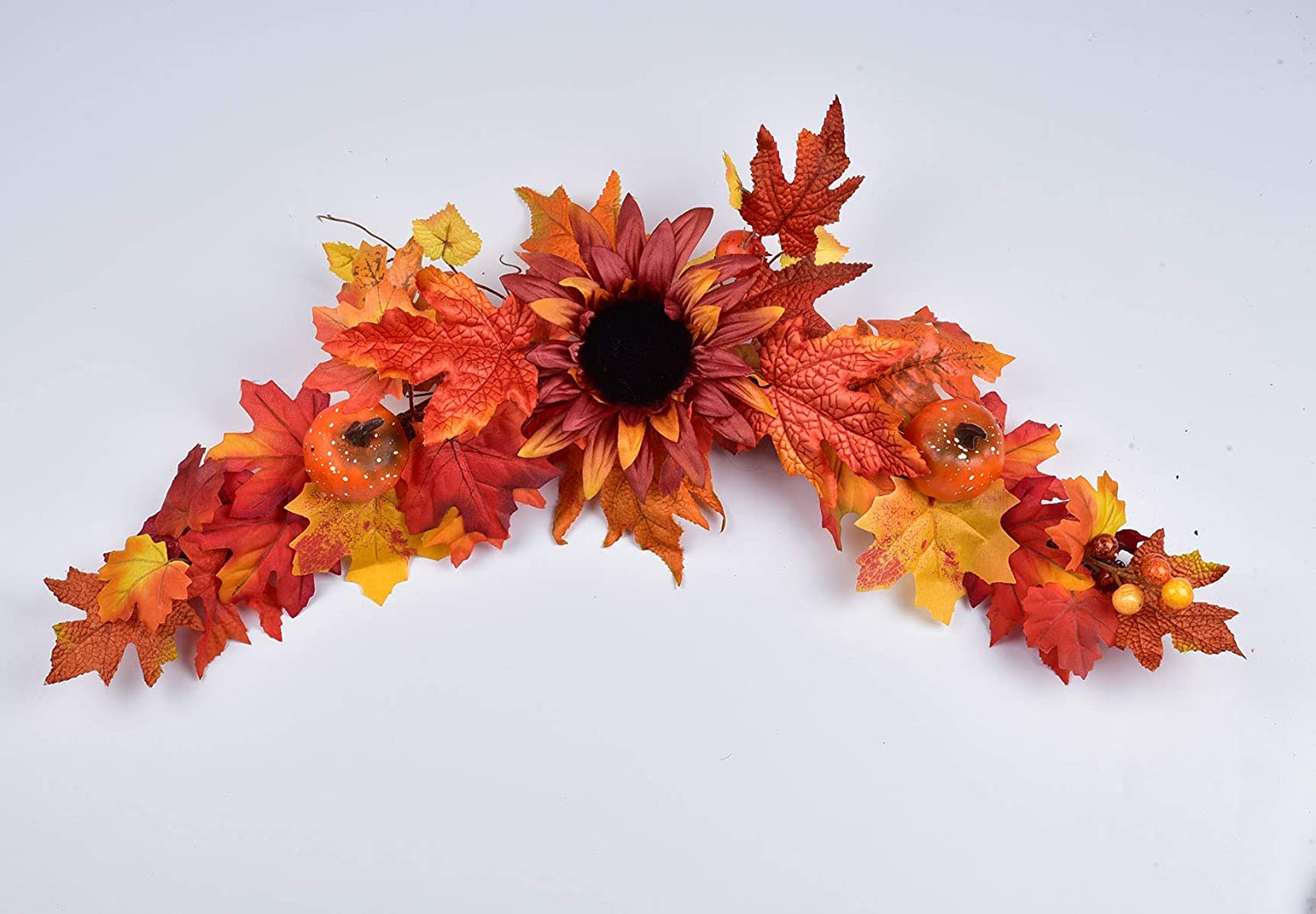 LSKYTOP Artificial Sunflower Swag - 25